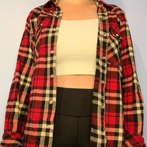 Tna Flannel Button-up